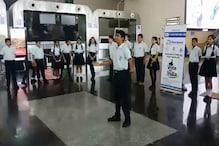 इंदौर में स्कूली बच्चों ने बताया 'वोट' का महत्व