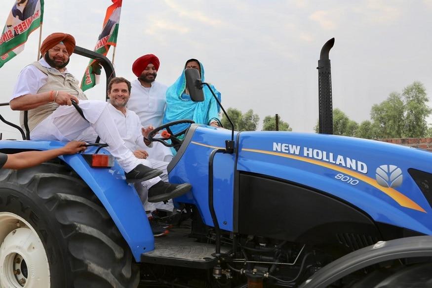 राहुल गांधी ने पंजाब के लुधियाना जिले रैली को संबोधित करने से पहले ट्रैक्टर चलाया. इस दौरान उनके साथ पंजाब मुख्यमंत्री पंजाब कैप्टन और पंजाब कांग्रेस इंचार्ज आशा कुमारी भी साथ बैठे थे. इस दौरान राहुल गांधी ने कहा कि लोकसभा चुनाव बहुत बढ़िया चल रहा है और इस बार कांग्रेस ही जीतेगी.