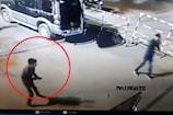 अस्पताल परिसर में ताबड़तोड़ फायरिंग, CCTV में कैद गुंडई