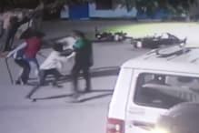 बरेली: गैंगवार CCTV में कैद, जमकर चले लाठी-डंडे