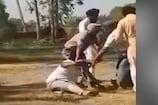 जब भिड़ पड़े अकाली दल और कांग्रेस कार्यकर्ता, देखें VIDEO