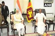 श्रीलंका के राष्ट्रपति से मिले PM मोदी
