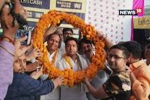 सुजानगढ़ में सांसद राहुल कस्वां ने निकाला विजय जुलूस