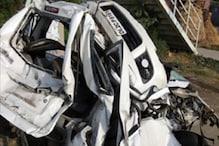 करनाल में कार और दो ट्रकों की भीषण टक्कर, 3 लोगों की मौत, 2 घायल