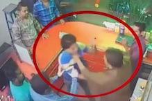 बिहार: BJP नेता के भाई की गुंडागर्दी CCTV में कैद