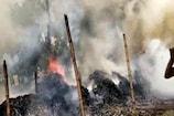 VIDEO: बाज़ार में भड़की आग की चपेट में आए 7 मकान