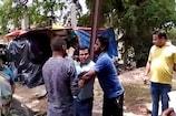 पंचायत सचिव को ग्रामीणों ने बिजली के खंभे से बांधा