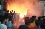 शादी समारोह में आतिशबाज़ी के चलते रद्दी गोदाम में भड़की आग