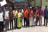 कैलाश मानसरोवर यात्रा से लौटा तीर्थ यात्रियों का पहला दल