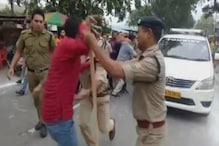 VIDEO:यहां आपस में ही भिड़े हिंदूवादी संगठन और BJP कार्यकर्ता