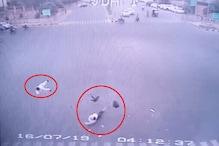 जयपुर में बेकाबू कार हुई कार, सगे भाइयों की मौत
