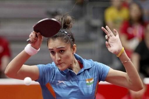 भारतीय टेबल टेनिस खिलाड़ी मनिका बत्रा