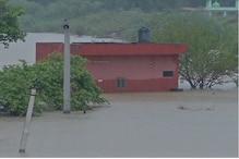 जयपुर का रावता बांध टूटा, बाढ़ के हालात