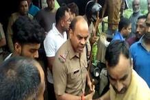 डंपर से कुचलकर छात्रा की मौत, भीड़ ने चालक को पीटा