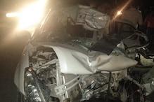 सिरसा में ट्राले से टकराई कार, एक ही परिवार के 5 लोगों की मौत