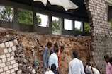 बैराड़ में सरकारीस्कूल की दीवार गिरी,4 बच्चों की हालत नाजुक