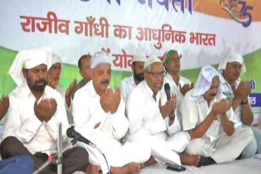 राजीव गांधी की 75वीं जयंती पर प्रार्थना सभा का आयोजन