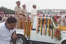 सीएम रघुवर दास ने मोरहाबादी मैदान में फहराया झंडा