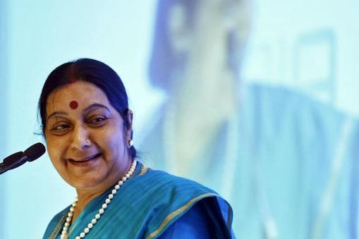 पूर्व विदेश मंत्री सुषमा स्वराज का 67 वर्ष की उम्र में हार्ट अटैक से निधन हो गया है (फाइल फोटो)