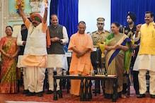2022 चुनाव पर BJP की नजर, नई कैबिनेट में साधा जातीय समीकरण