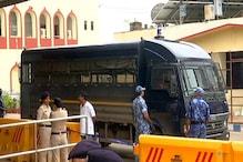 इंतजार करते रहे समर्थक और अनंत सिंह को लेकर निकल गई पुलिस