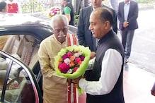 बंडारू दत्तात्रेय का सीएम जयराम ने किया स्वागत, कहा- उनके अनुभव का मिलेगा लाभ