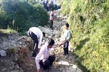120 किमी पैदल चलकर लगाई थी गुहार, पगडंडी तक नहीं बना पाई हिमाचल सरकार