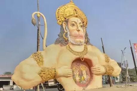 सरकार की लापरवाहीः पिछले दीपोत्सव में लगी भगवान की मूर्ति ढही
