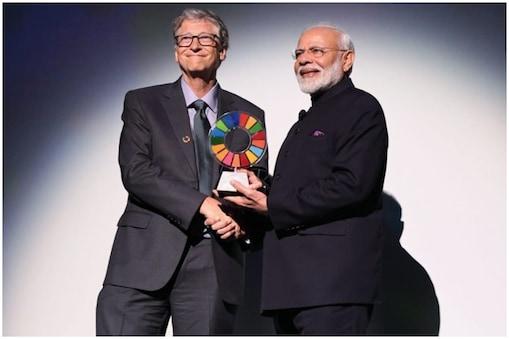 बिल ऐंड मिलिंडा गेट्स फाउंडेशन की तरफ से उन्हें ये सम्मान खुद बिल गेट्स ने दिया