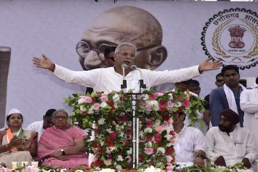 सीएम भूपेश बघेल ने केंद्र सरकार पर निशाना साधते हुए एक ट्वीट किया है. (File Photo)