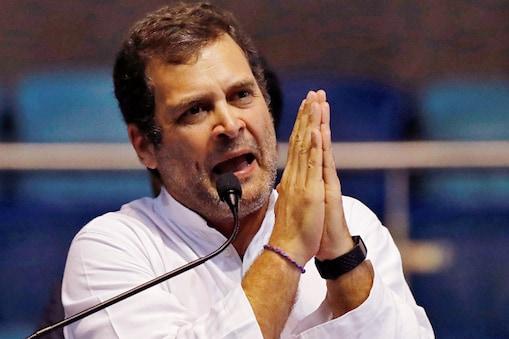 राहुल गांधी ने बीजेपी के नेता बख्शीश सिंह विर्क को चुनाव आयोग से नोटिस मिलने पर चुटकी ली है.