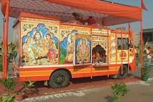 मंदिर निर्माण के लिए सक्रिय हुए हिंदूवादी संगठन, लखनऊ में निकली शोभायात्रा