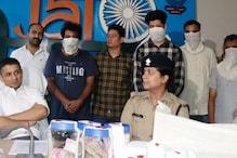 क्रिकेटर अभिमन्यु के घर डकैती का खुलासा, मुख्य अभियुक्त समेत 5 गिरफ़्तार