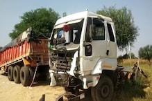 चूरू: बेकाबू पिकअप और ट्रेलर में भिड़ंत, हादसे में दो लोगों की हुई मौत