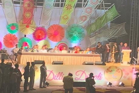 दिल्ली में AAP सरकार की दिवाली उत्सव का आगाज, लेजर शो से जगमगाया कनॉट प्लेस