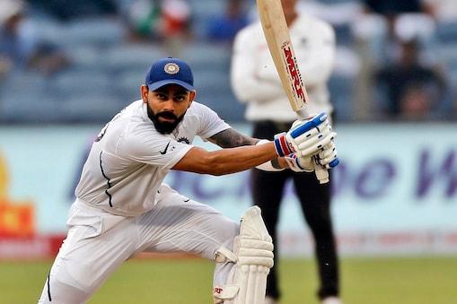 विराट कोहली ने बतौर कप्तान 50 में से 30 टेस्ट में जीत हासिल की है. (एपी)
