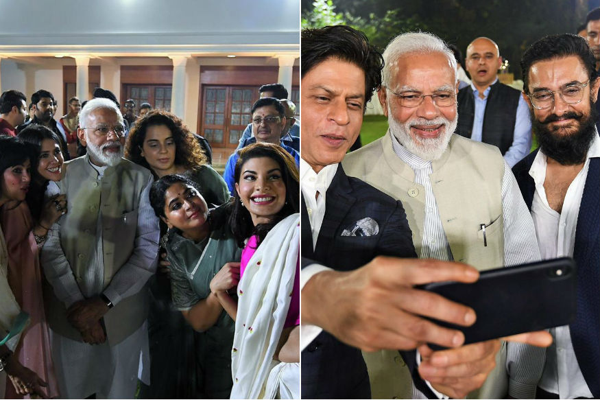pm modi with bollywood industry 12