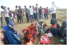 तालाब में डूबने से 3 बच्चों की मौत से गांव में पसरा मातम