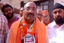 """""""कांग्रेस उम्मीदवार भारत माता नहीं बल्कि सोनिया गांधी की जय बोलते हैं"""""""