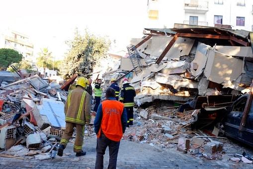 अल्बानिया में 6.4 तीव्रता का भूकंप