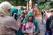 निकाय चुनाव: बाड़मेर में लोग मतदान करने के लिए जा रहे हैं श्मशान घाट