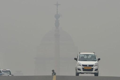 दिल्ली के राजपथ का मंजर