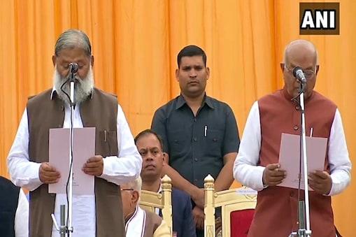 हरियाणा में बीजेपी-जेजेपी की मिलीजुड़ी सरकार का ये पहला विस्तार है जिसमें छह विधायकों को कैबिनेट मंत्री बनाया गया है और चार को राज्यमंत्री की शपथ दिलाई गई है