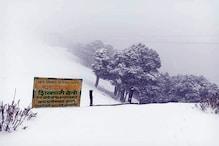 PHOTOS: मंडी में ताजा बर्फबारी: शिकारी देवी, कमरूनाग और शैटाधार में हिमपात