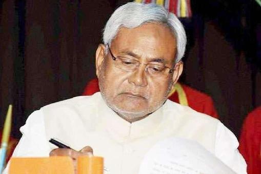मुख्यमंत्री नीतीश कुमार की  फाइल फोटो