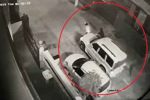 फतेहाबाद में चोरों ने उड़ाई स्कॉर्पियों गाड़ी