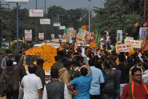 जे पी नड्डा की रैली पर इंदौर नगर निगम ने लगाया 13.46 लाख रुपए का जुर्माना