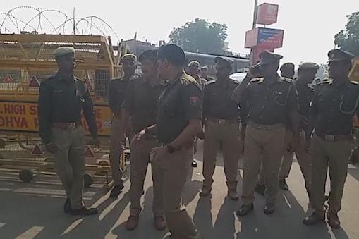 अयोध्या में बाबरी विध्वंस की बरसी को लेकर सुरक्षा चाक चौबंद