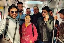 दिल्ली की मेट्रो में शुमोना के साथ नजर आए कपिल शर्मा, Viral हो रही है Photo