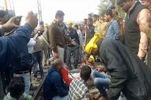 मुजफ्फरपुर की पीड़िता की मौत के बाद पटना में बवाल, रेल और सड़क परिचालन बाधित